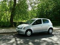 TOYOTA YARIS 1.3L 5DOOR 1LADY OWNER WARRANTED MILES HPI CLEAR EXCELLENT CONDITION