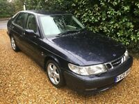 2000 SAAB 9-3 93 SE TURBO BLUE 5DR AUTOMATIC LOW MILEAGE IMMACULATE EXAMPLE THROUGHOUT