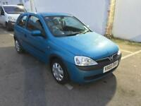 Corsa 1.0 Club 2003 low mileage