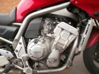 YAMAHA FZS1000 FAZER 5LV 99 TO 05 ENGINE 23,000 MILES 30 DAY GUARANTEE BREAKING BIKE