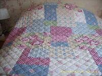 Kingsize Bed cover Rosie pink