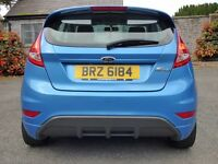 09 Stunning Ford Fiesta 1.6 Zetec S 3dr,73k fsh trade in considered, credit and debit cards accepted