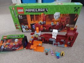 Minecraft lego the nether
