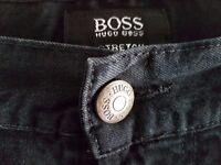 Mens Hugo Boss Black Custer jeans 34 waist