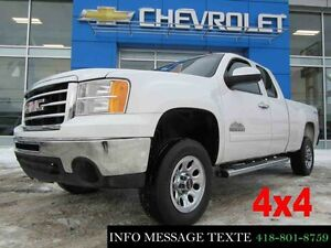 2013 GMC SIERRA 1500 4WD EXTENDED CAB 4x4 V8