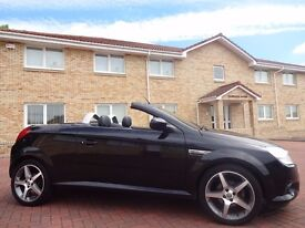 12 MONTH WARRANTY! (2009) VAUXHALL Tigra 1.4 Exclusiv Lady Owned - Heated Leather - 40k Miles - FVSH
