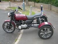 kawasaki gt 550 trike lots of new parts good runner regestered as a trike at dvla open to offers