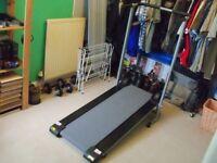 OPTI folding manual treadmill.
