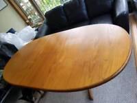 G Plan Teak dining room table
