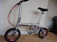 Folding Bike (light and compact & easy to carry)