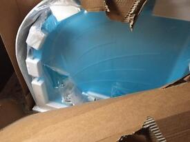 Mira right hand shower tray (flight)