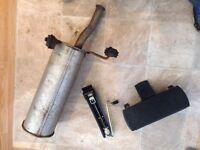 Citroen Picasso rear exhaust box/ silencer & original Piccasso jack