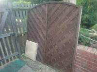 Trellis Fence panel reclaimed in good condition reusable