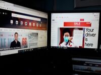 3x Dell Monitors