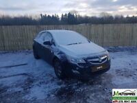 2011 Vauxhall Astra 1.7 6speed A17DTJ **breaking only**