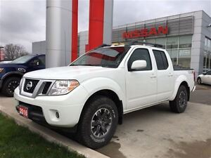 2016 Nissan Frontier PRO-4X, LEATHER, NAVI, HEATED SEATS