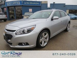 2015 Chevrolet Malibu LTZ TURBO - LEATHER/SUNROOF/CAMERA