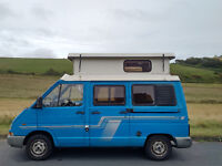 Renault Traffic Campervan low mileage,great runner,great fit out with plenty of storage. MOT June 17