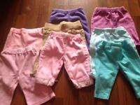 Baby girls pants 3-6