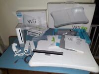 Nintendo Wii Bundle with Games, Wii Fit Balance Board, controllers etc
