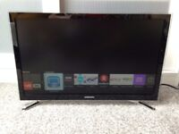 Samsung 22 LED Smart TV (Built in WiFi, Freeview & Full HD) - Black