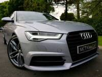 Oct 2015 (Facelift) Audi A6 2.0 Tdi S Line Ultra Black Edition 190nhp £20 ROAD TAX! 1 Owner! FASH!