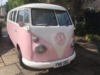 VW Split Screen Campervan Right Hand Drive