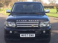 Land Rover Range Rover Sport- Black-Automatic- Diesel- Estate- Low Mileage- 3 months warranty