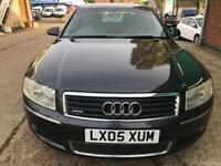 Audi A8 automatic 3.0 diesel f/s/h sat nav 4 new winter tyres