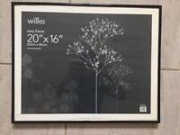 20 x 16 inch photo frame like new RRP £9