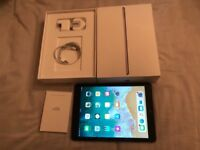 iPad 5th gen32gb WiFi+4G.Vodafone.New condition.Original,charger,box+case.£230 NO OFFERS.CAN DELIVER