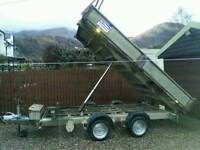 Ifor williams tipping trailer 12x6