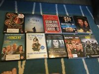 Huge mixed lot dvds and multi region DVD player