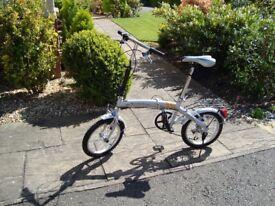 Folding Bicycle £35