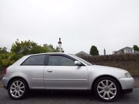 12 MONTH WARRANTY! (2003) AUDi A3 1.9 TDi SPORT 130BHP 6 Speed 3dr- One Owner- Very Low Mileage- FSH