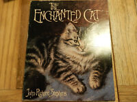 "BOOK "" THE ENCHANTED CAT "" for cat lovers stories drawings poems gift present idea"