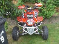Honda trx440ex. Fully loaded with every extra....Road legal....