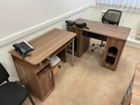 Office Desk, Chairs & Meeting Table