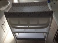Ladybird baby bath and changing unit system