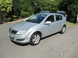 VERY LOW MILEAGE 2008 ASTRA 1.6 CLUB, 58000 MILES, F.S.H., 5-DR, 55MPG, NEW MOT, PART-EXCHANGE TAKEN