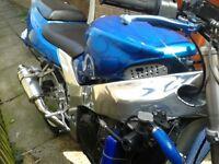 Kawasaki zx9 ninja custom proper street fighter