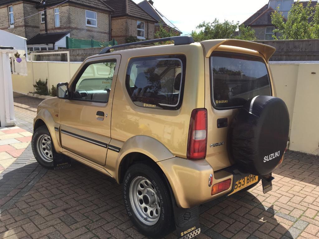 Suzuki Jimny Sold Sold Private Sale 1 3 Metallic Gold In Poole