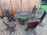 Garden table and chair's