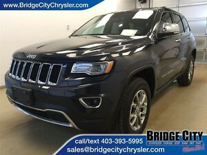 2015 Jeep Grand Cherokee Limited- Leather, Heated Seats, Power L