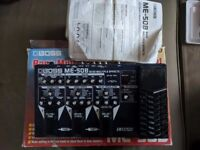 Boss ME-50B Bass Multi Effects Processor Used