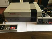 Nintendo NES Console - Region Free (PAL / NTSC) + New 72 Pin Connector - VGC