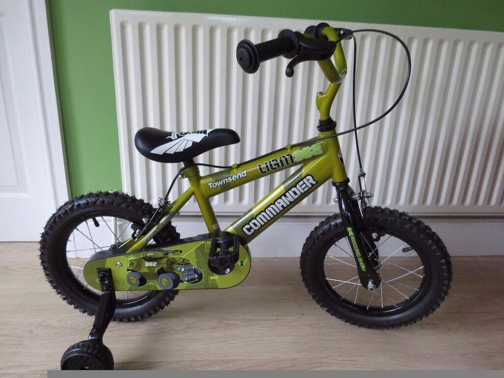 "BOYS BIKE 14"" WHEELS. NEW.Townsend Commander Kids' Bike NEW NEW NEW"
