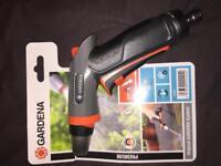 Gardena twin tap connector, indoor tap kit & premium cleaning nozzle