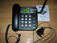 Steepletone Big Button GSM Telephone - Model SGSM1 Black
