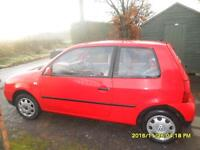 Volkswagen vw red lupo 1.0l low miles